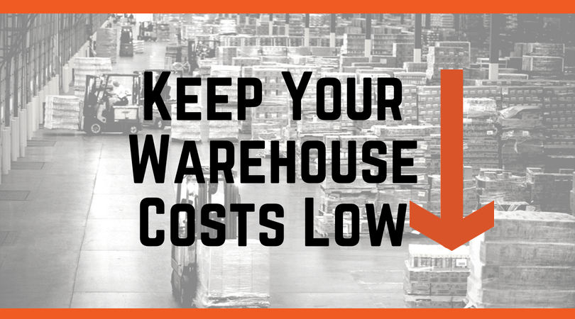 Keep your warehouse costs low - blog