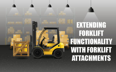 Extending Forklift Functionality with Forklift Attachments