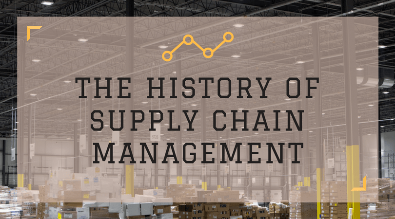 The history of supply chain management - blog