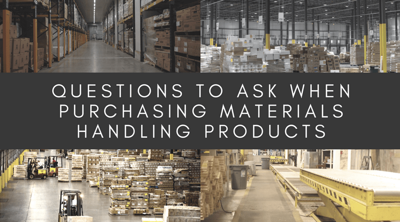 Purchasing Material Handling Products - blog
