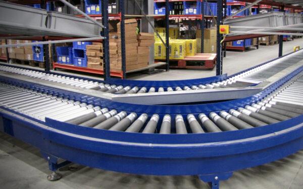 Roller Conveyor - Blue
