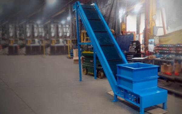 Belt Conveyor - Blue
