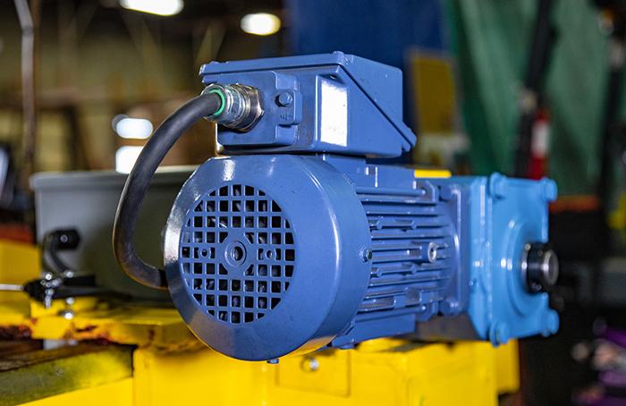 Sheet lifter motor