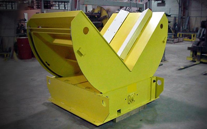 tilt table/upender - yellow