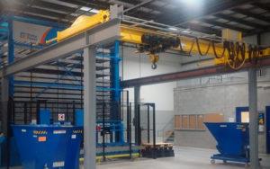 Bridge (overhead) Cranes at customer facility