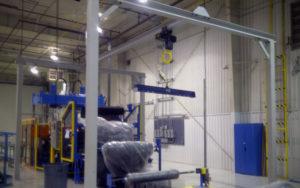 Monorail Crane Systems - full setup