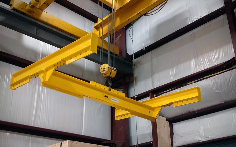 4 Point Lifting beam - yellow