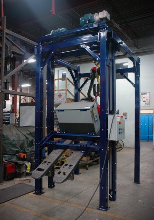 Carney Fabricating Eagle Lift - dark blue