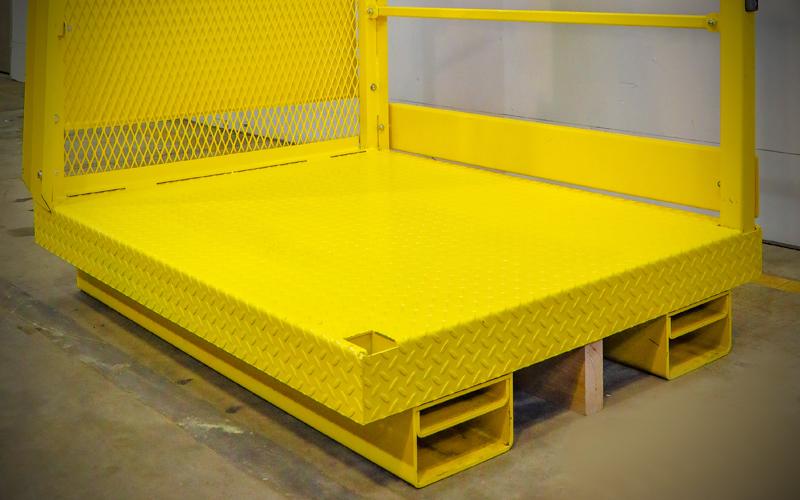 Picker Platform - non slip platform