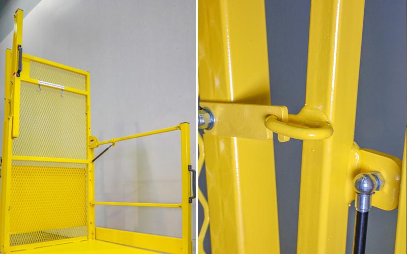 Picker Platform - Lifting side Rails
