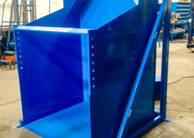 Front Loading Hydraulic Dumper - Blue